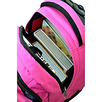 Nba Milwaukee Bucks Expedition Wheeled Backpack, 19-inches, Pink 6
