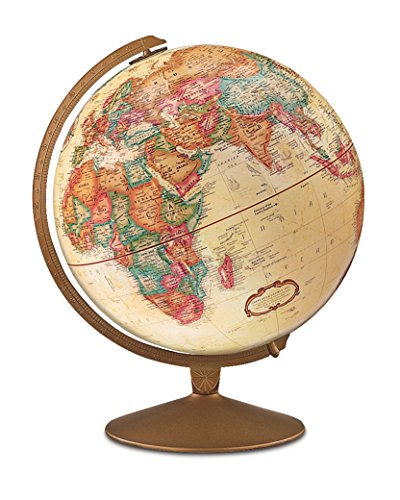 Replogle - Globo Franklin en español, 30 cm, Color Beige (31565.0)