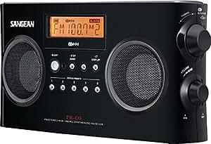 Sangean Pack PR-D5B Stereo-Radio (MW/-UKW Tuner, LCD) schwarz