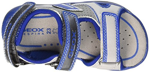 Geox - B620GB000BCC1269 - Walking Sandals Bébé Jaune (Lt Grey/Royal)