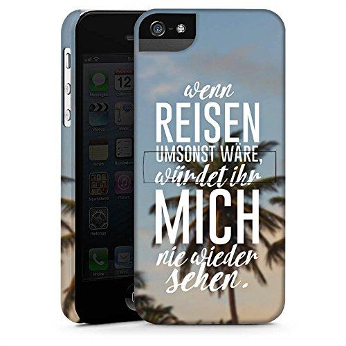 Apple iPhone X Silikon Hülle Case Schutzhülle Reise Palmen Urlaub Premium Case StandUp