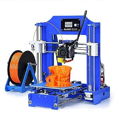 ALUNAR MINI 3D Printer Prusa I3 Kit DIY Desktop FDM 3D Self Assembly Special School Boy Birthday Gift Kids Toy Maker by ALUNAR
