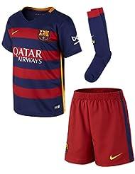 Nike - Conjunto de niños 1ª equipación FC Barcelona 2015-2016 Stadium