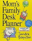 Mom's Family Desk Planner 2017 by Sandra Boynton(2016-07-05)