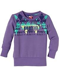 PUMA graphic crew sweat-shirt pour fille