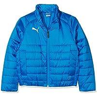 Puma Liga Casuals Padded Jacket Chaqueta, Todo el año, Infantil, Color Electric Blue Lemonade-Puma White, tamaño 176