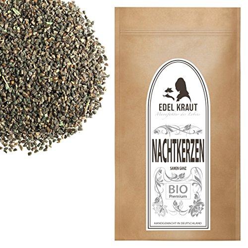 EDEL KRAUT | BIO NACHTKERZENSAMEN - Premium Nachtkerze - Evening Primrose Seeds Organic 100g