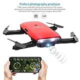 Drone Droni con Macchina Fotografica-GoolRC T47 Drion di Controllo Motionalmente Pieghevole FPV Drone con Fotocamera 720P e 1 Batteria Supplementare by GoolRC
