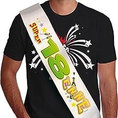Idea Regalo - FASCIA 18 anni - SUPER 18 ENNE - gadget idea regalo scherzoso compleanno