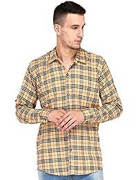 Lafantar Casual Checkered Shirt For Men - vxt12