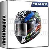 MOTOTOPGUN Shark he8671dug Casque Intégral Race-R Pro Carbon Rep Lorenzo Catalunya...