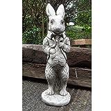 Peter Rabbit Beatrix Potter–Decorazione da giardino in pietra/Statua/Scultura