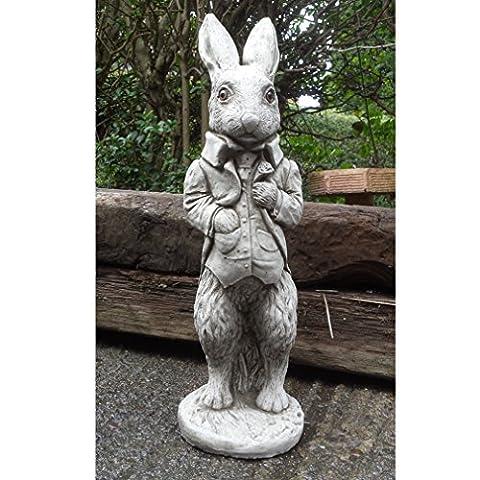 PETER RABBIT Beatrix Potter - HAND CAST STONE GARDEN ORNAMENT