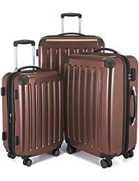 Hauptstadtkoffer Juego de maletas, marrón (marrón) - 82782056