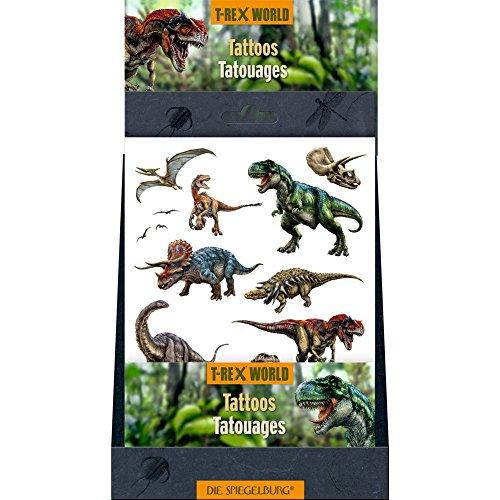 Spiegelburg 14449 tatuaggi/trasferelli dei dinosauri - il mondo di t-rex