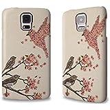 Designer Hülle / Case / Cover für das Samsung Galaxy S5 mini - ''Blossom Bird'' von Terry Fan