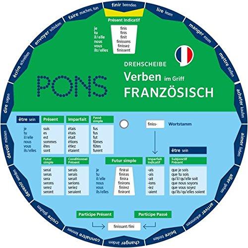 PONS Drehscheibe Verben Französisch im Griff! Die unregelmäßigen Verben mit einem Dreh nachschlagen.