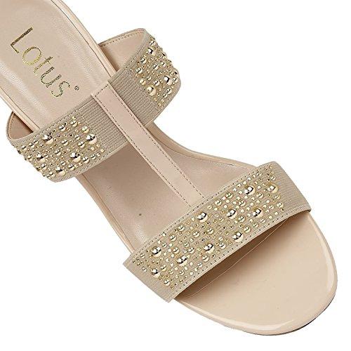 Lotus , Sandales pour femme beige beige Beige