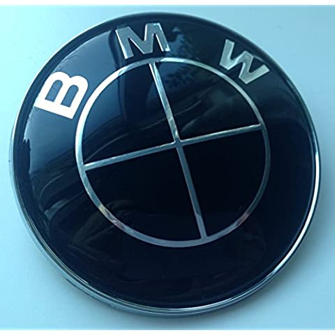 BMW cappuccio nero Tronco distintivo, 82 mm, by goodealshop