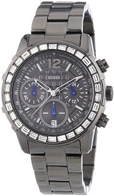 Reloj Guess W0016L3 de cuarzo para mujer con correa de acero inoxidable, color gris de Relojitos Euromediterránea