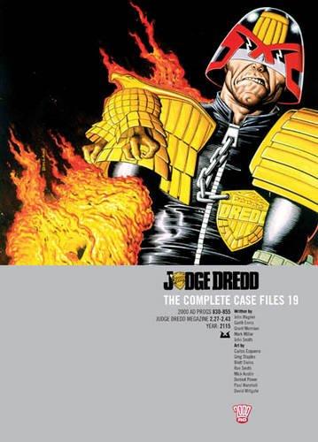 Judge Dredd: v. 19: The Complete Case Files (2000 Ad) por John Wagner