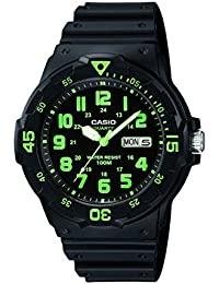 Casio Enticer Analog Black Dial Men's Watch - MRW-200H-3BVDF (A743)