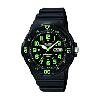 Casio Enticer Analog Black Dial Men's Watch – MRW-200H-3BVDF (A743)