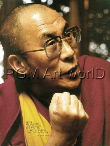 Liby Poster/Kunstdruck Dalai Lama 48 x 70 cm