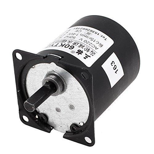 sourcingmap A C220V 15RPM Reversible Getriebemotor Drehzahlreduzierer Exzenterwelle - 1 Geschwindigkeit-kondensator-motor