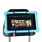 Hikig Auto poggiatesta Supporto per Tutti i Kindle Fire – Fire HD 8 Kids Edition/Fire 7 Kids Edition/Kindle Fire HD 7/Kindle Fire HD X7/Kindle HD X9/New Fire 7 (2015)/Fire HD 8/Fire HD 10