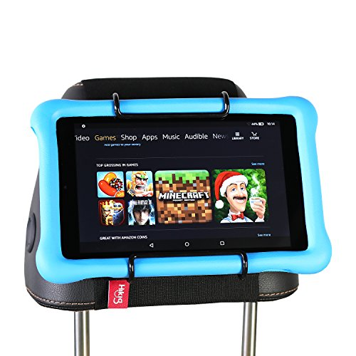 Hikig Auto-Kopfstütze Halterung für Allen Kindle Fire - Fire HD 8 Kids Edition/Fire 7 Kids Edition/Kindle Fire HD 7/Kindle Fire HD X7/Kindle HD X9/New Fire 7 (2015)/Fire HD 8/Fire HD 10