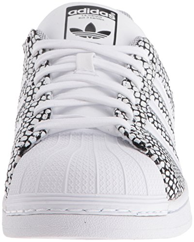 Adidas Superstar Snake - bianco / nero-bianco, 8.5 D Us White / Black-White