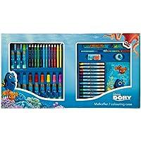 Buscando a Dory, Maletin y Set de Dibujo, Colorea y Dibuja 42 piezas
