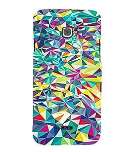 PrintVisa Modern Art Colorful Pattern 3D Hard Polycarbonate Designer Back Case Cover for Infocus M350