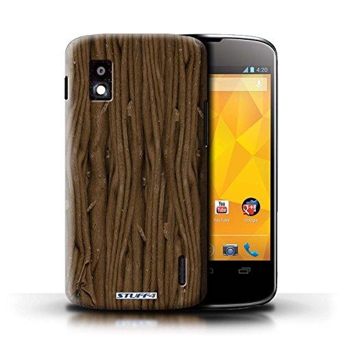 Kobalt® Imprimé Etui / Coque pour LG Nexus 4/E960 / Blocs Dairy Milk/Dalle conception / Série Chocolat Flake/Flocon