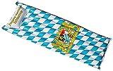 Geschenkbox Königlich Bayerische Luftmatratze Aufblasartikel Schwimmen See Meer mit Bayerischem Rautenmuster und Wappen, ca. 180m