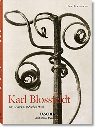 Karl Blossfeldt.Obra completa (Bibliotheca Universalis) por Hans Christian Adam