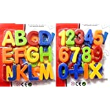 Combo Of Magnetic Learning Alphabets And Numbers Small (ABC &123)
