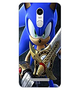 ColourCraft Warrior Cartoon Design Back Case Cover for XIAOMI REDMI NOTE 3