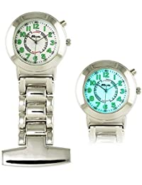 Ravel Nurses EL Backlight Fob Watch R1101EL