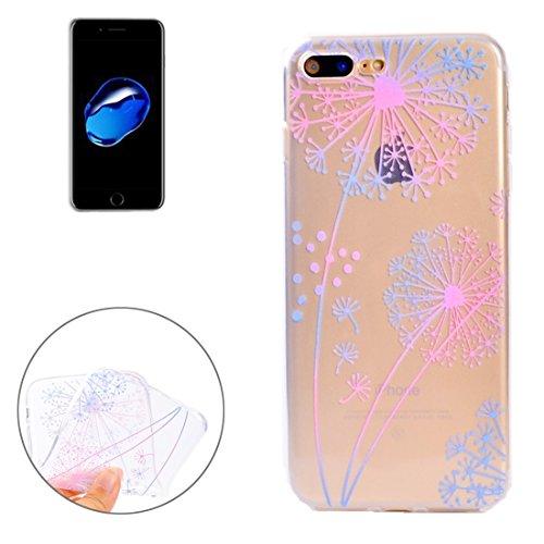 YAN Für iPhone 7 Plus Bunte blaue Blumenmuster Soft TPU Schutzhülle ( SKU : Ip7p5010f ) Ip7p5010c