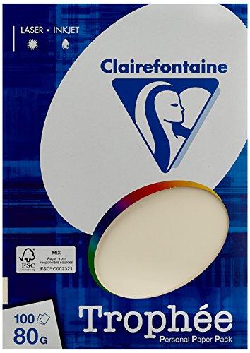 Clairefontaine PPP-Papiere/4104c DIN A4 elfenbein 80 g/qm Inh.100