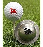 Best Tin Cup pelota de golf Marcadores - Tin Cup–Marcador de pelotas de golf–Firebreather/Gales Review
