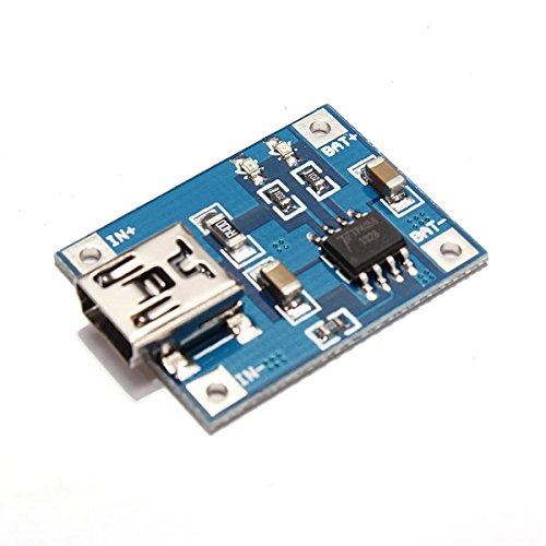 Bluelover Mini 1A Batería De Litio Carga Bordo Módulo Cargador Usb Interfaz (precio: 3,69€)