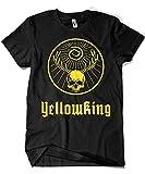 3448-Camiseta Premium, True Detective - Yellowmeister (Dr.Monekers)