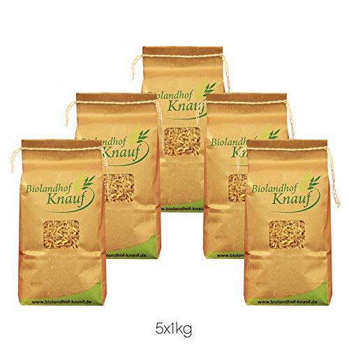 BIO Getreide - Probierpaket Brot 5x1kg - direkt vom Bauernhof - aus kontrolliert biologischem Anbau