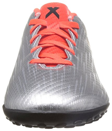 adidas X 16.4 Tf, Scarpe da Calcio Uomo Plata (Plamet / Negbas / Rojsol)
