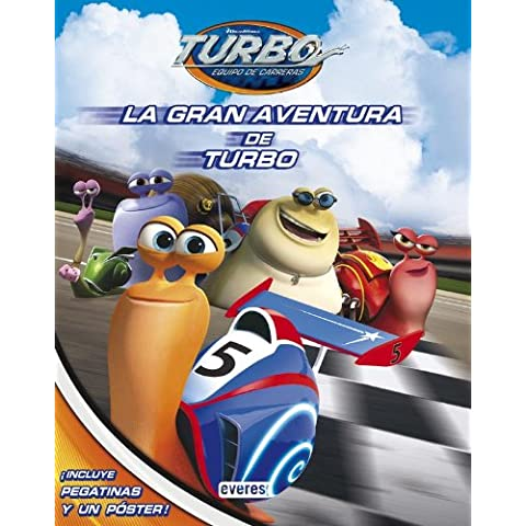 La Gran Aventura De Turbo (Libros singulares)