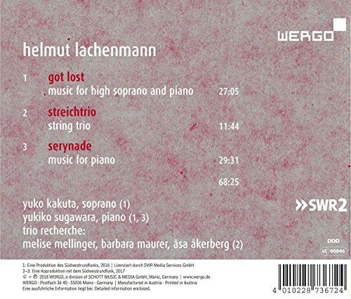 Lachenmann : Got Lost. Kakuta, Sugawara, Trio Recherche.