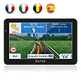 OUTAD GPS Navigation Chargeable de Voiture 7'' Tactile 48 Cartographie...
